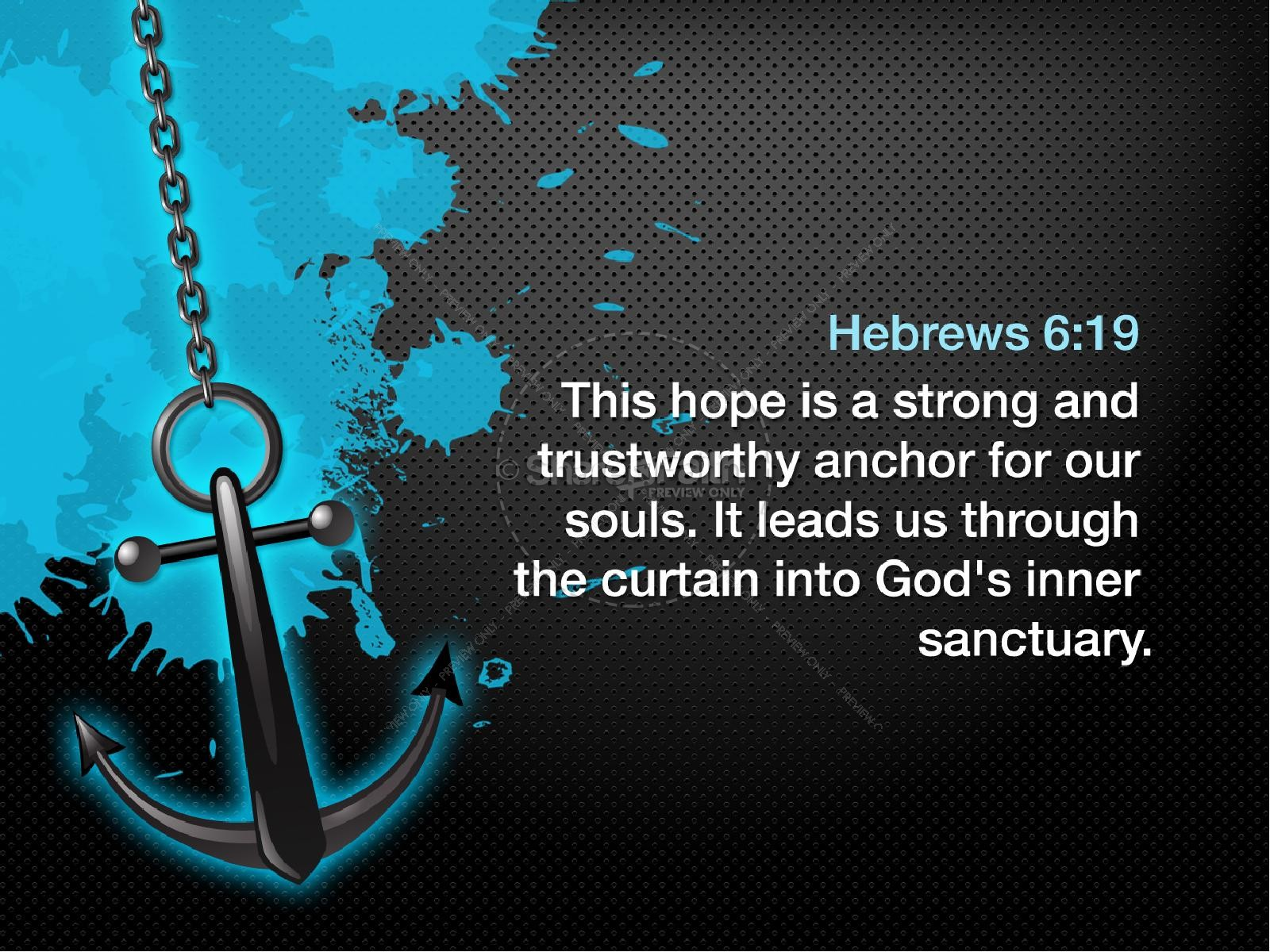 Anchored in Christ PowerPoint Sermon | slide 4