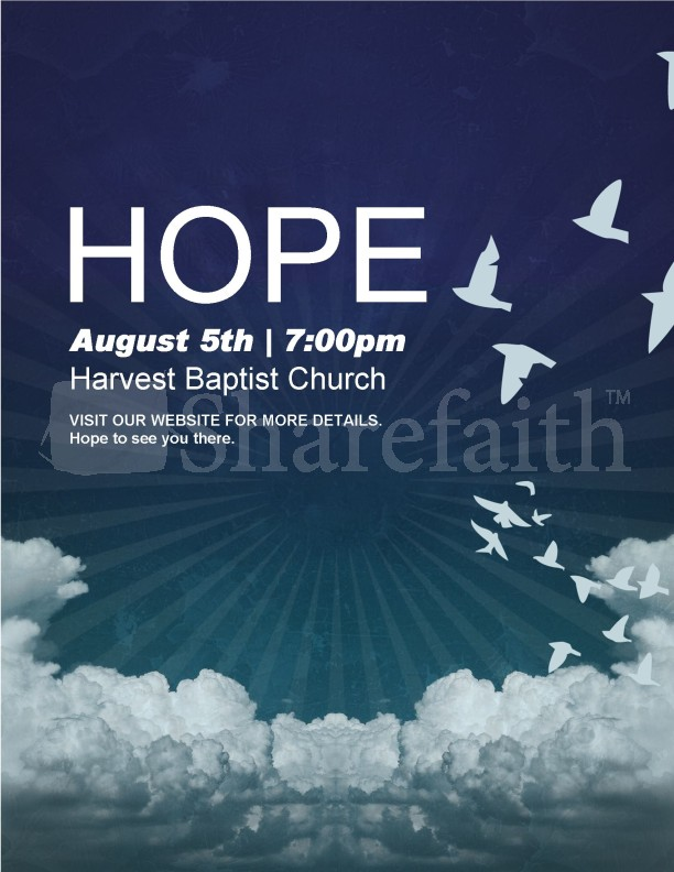 Hope Church Flyer