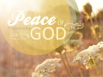 Peace of God PowerPoint Design