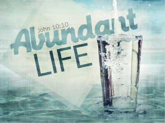 Abundant Life PowerPoint Sermon
