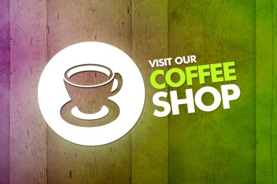 Visit Our Coffee Shop Church Video