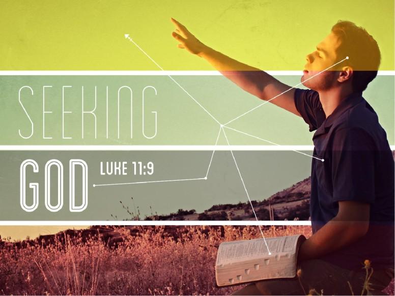 Seeking God PowerPoint Sermon