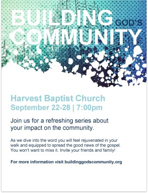 Building God's Community Flyer