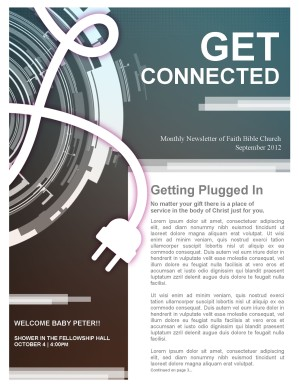 Get Connected Church Newsletter