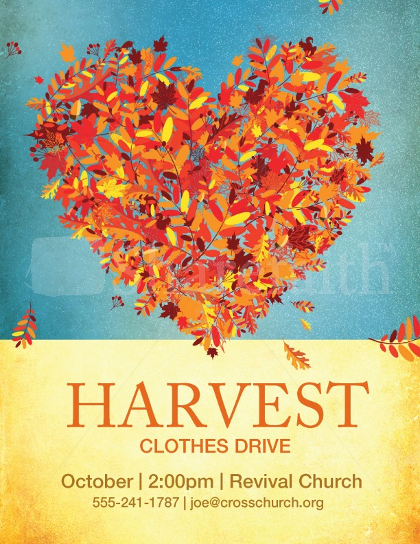 Harvest Clothes Drive | page 1