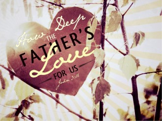 How Deep The Father's Love For Us PowerPoint Sermon