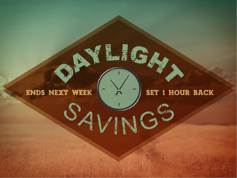 Daylight Savings Church Graphics