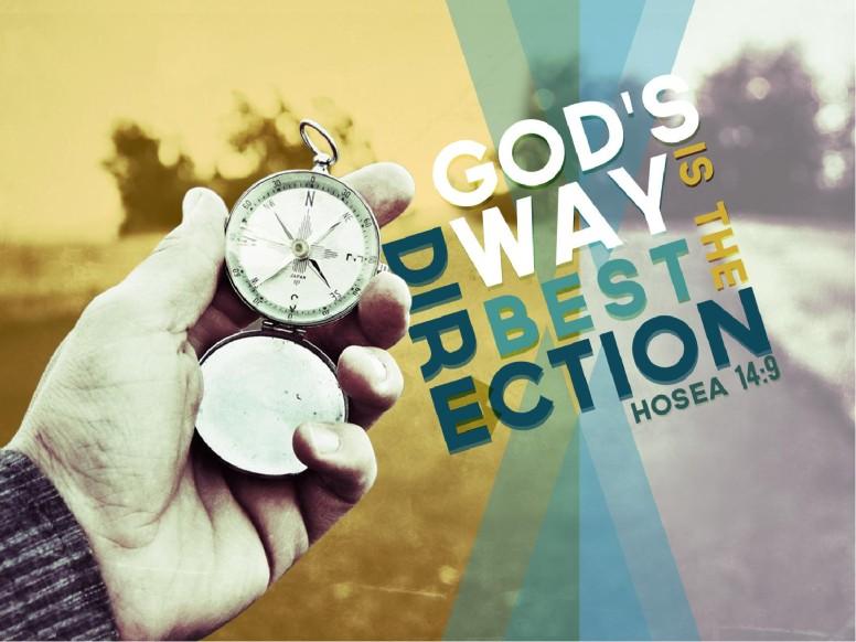 Hosea 14:9 Sermon PowerPoint Template