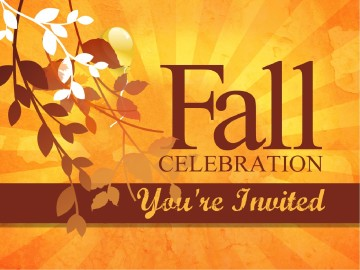Fall Celebration Church PowerPoint