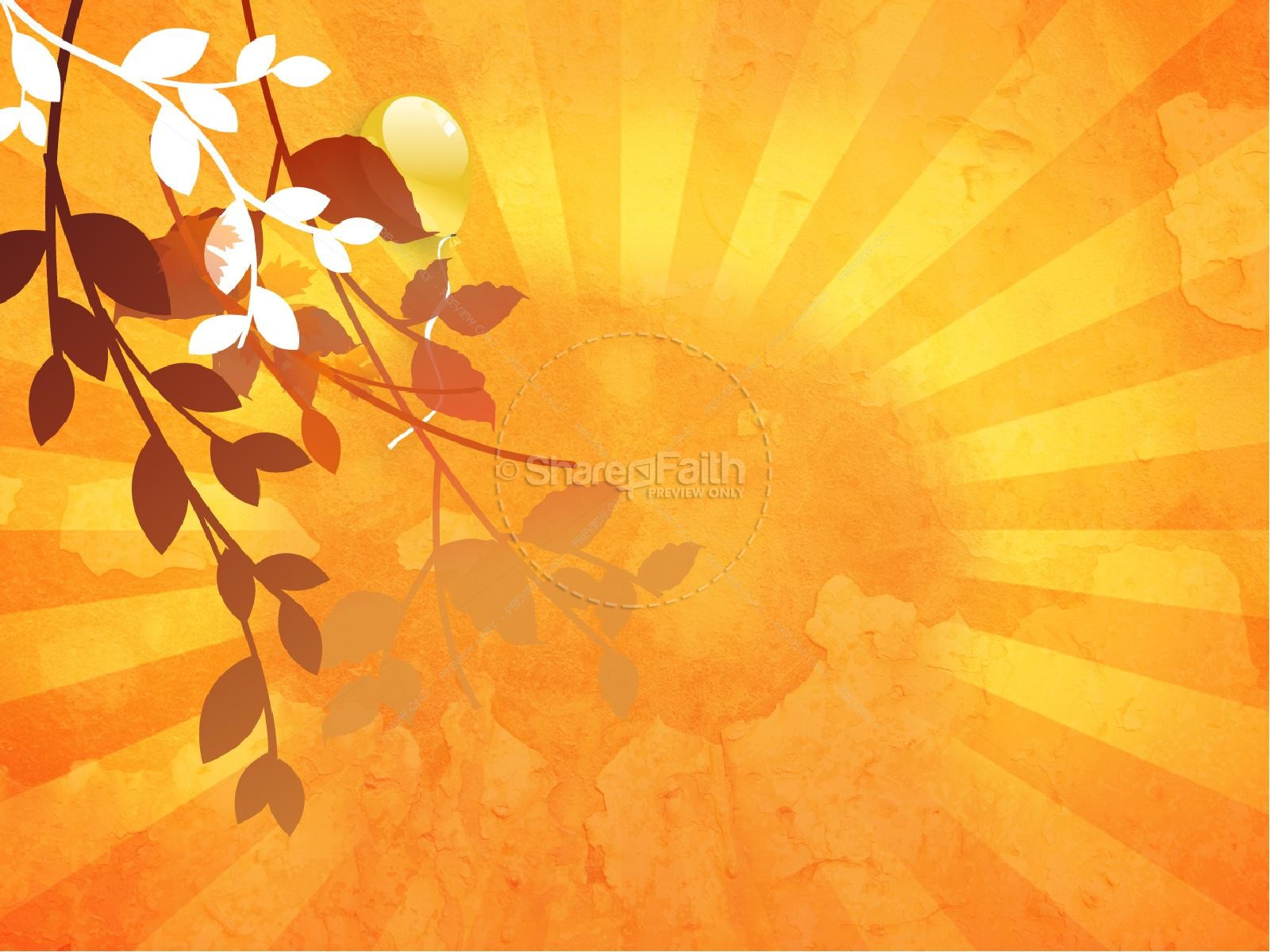 Fall Celebration Church PowerPoint