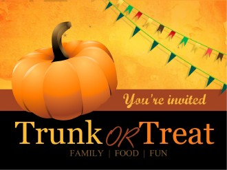 Church Trunk or Treat PowerPoint