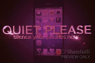 Silence Your Phone Church Video