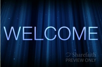 Blue Welcome Videos