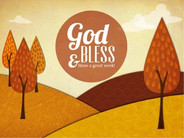 Fall Sundays Church PowerPoint Design