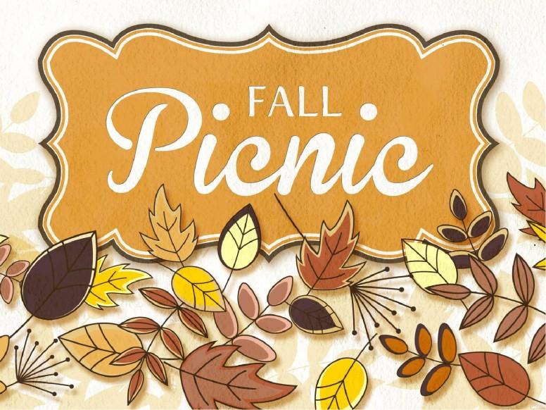 Fall Picnic Church PowerPoint