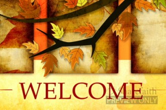 Church Welcome Video for Fall