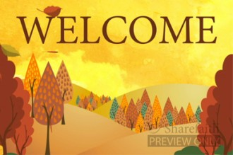 Fall Welcome Video for Church