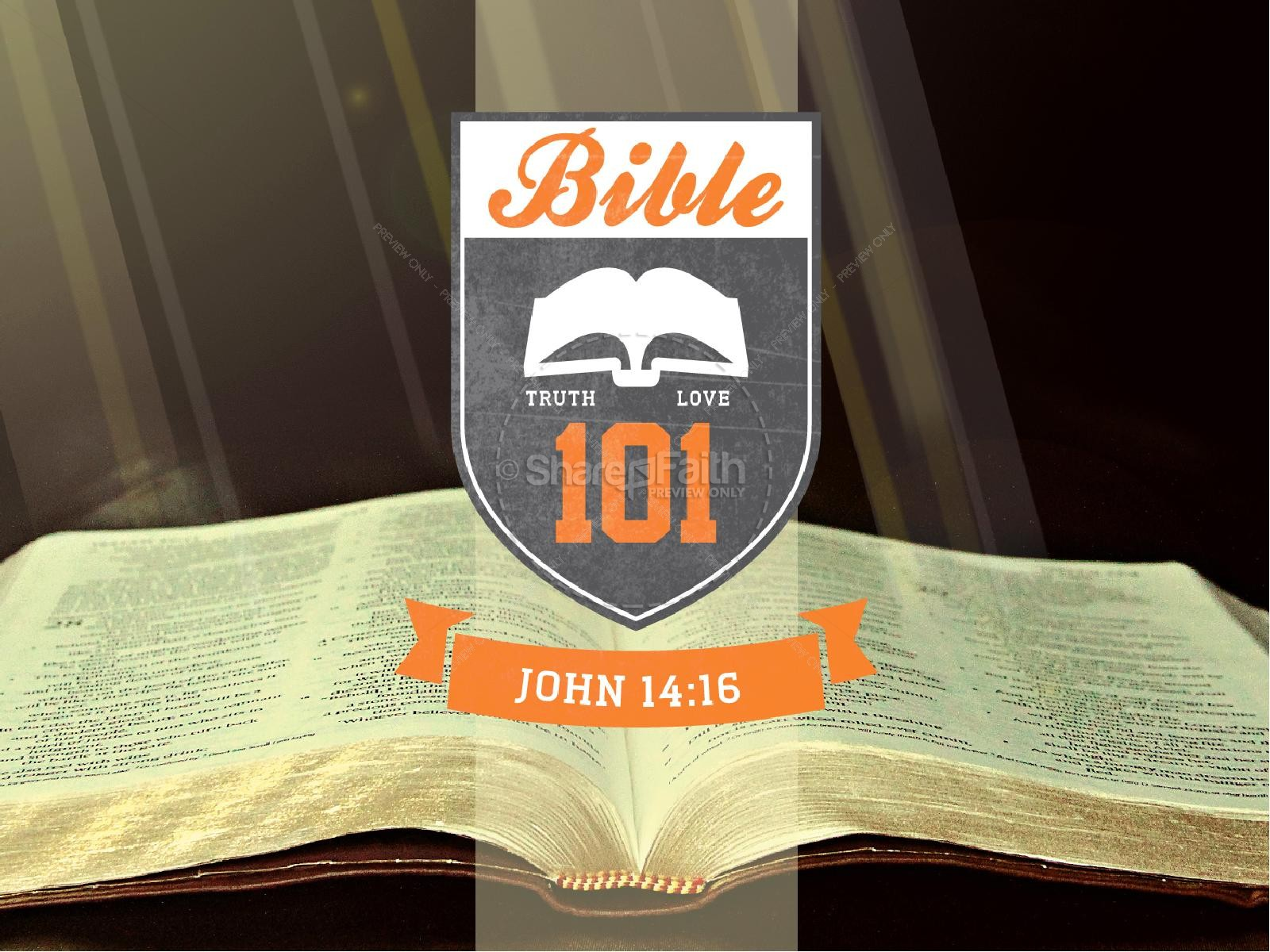 Bible 101 PowerPoint