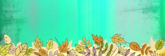 Autumn Leaves Website Banner Design