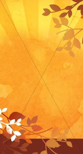 Fall Celebration Website Sidebar