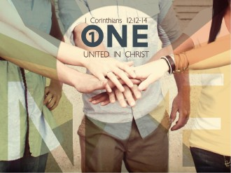 United in Christ PowerPoint Template