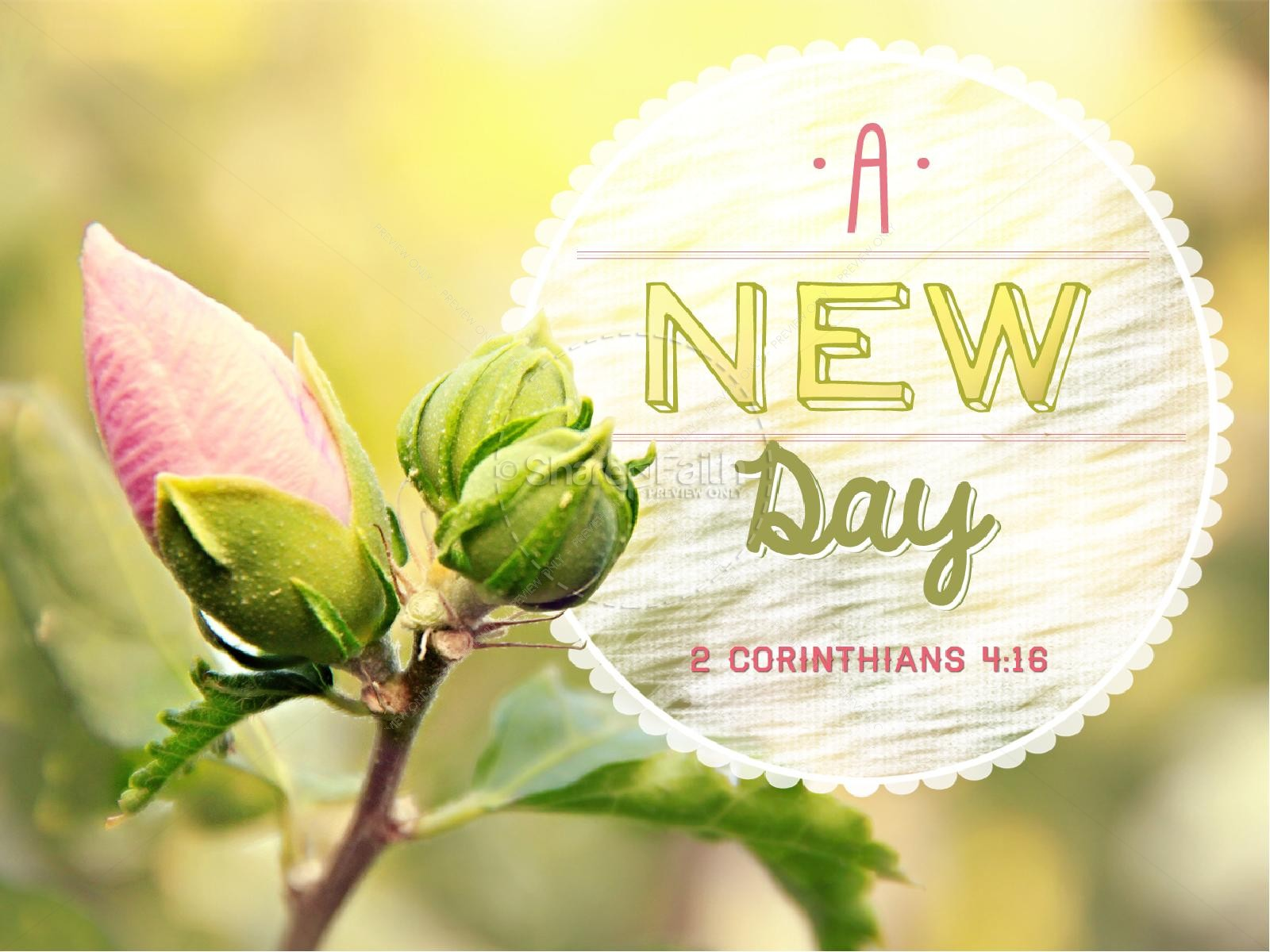 New Day PowerPoint Sermon Template