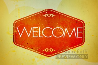 Fall Welcome Video Loop for Church