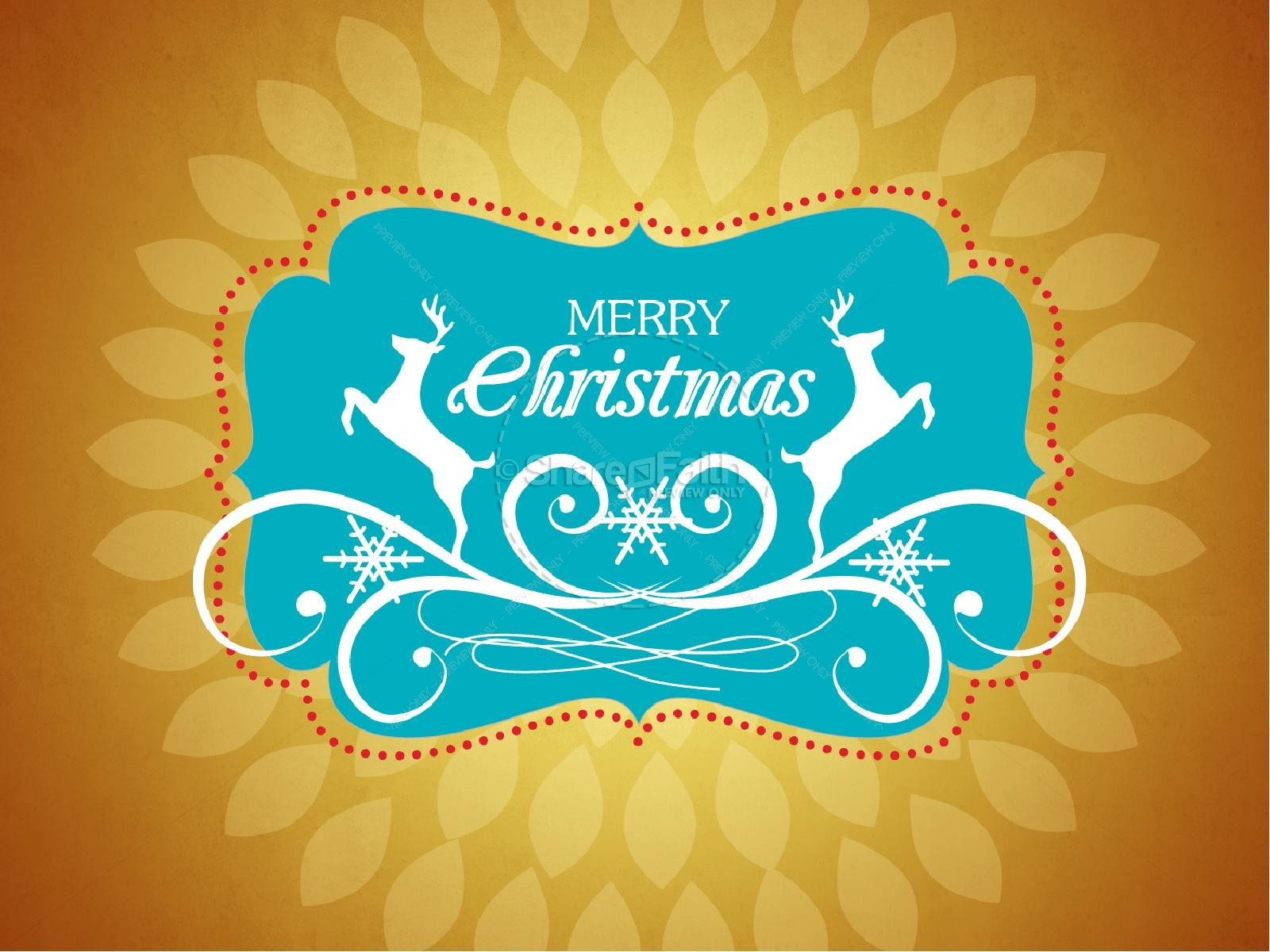 Merry Christmas Season PowerPoint Template