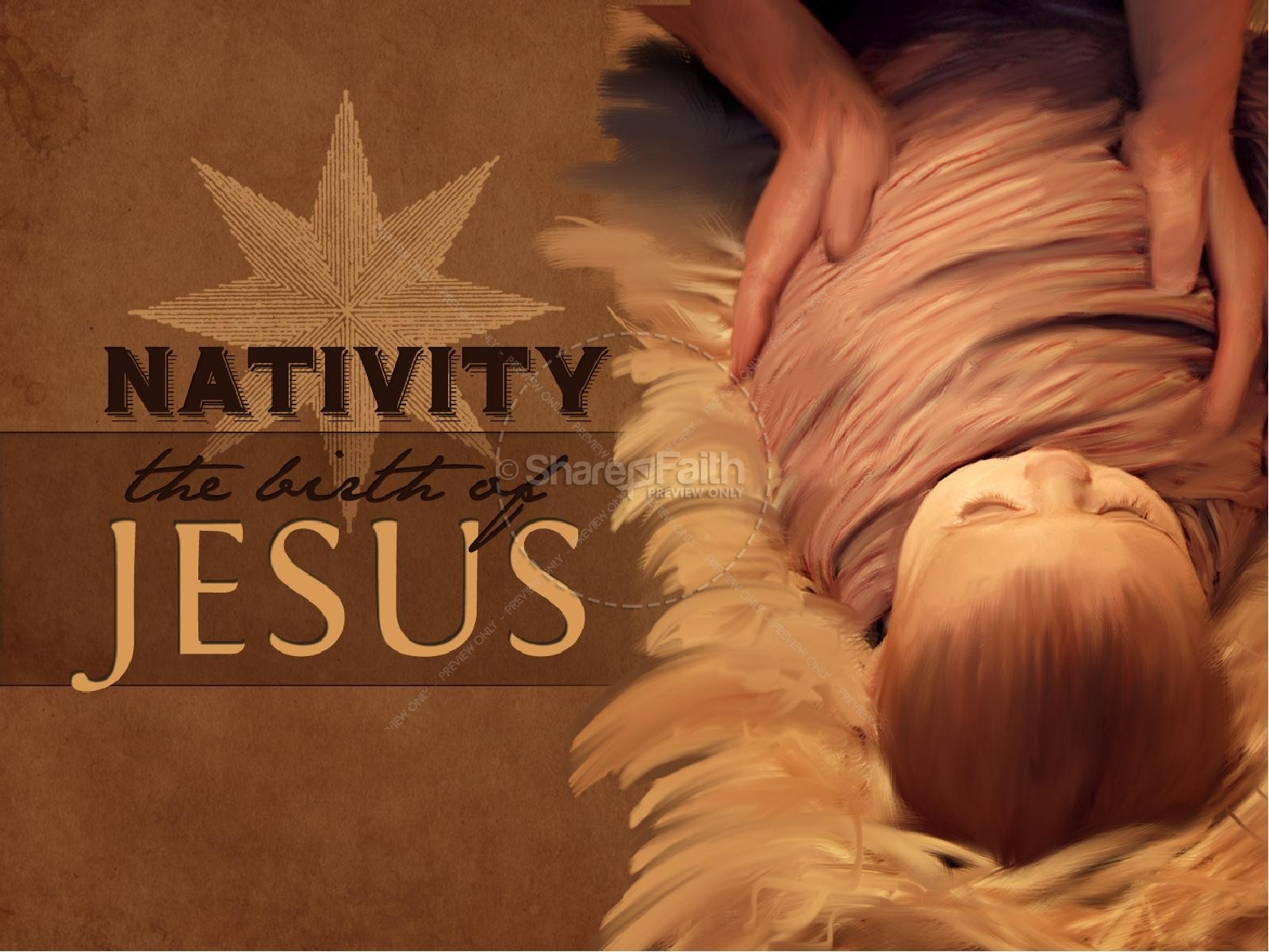 Nativity Birth of Jesus PowerPoint