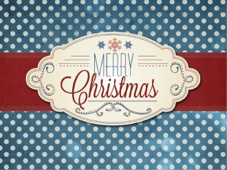 Merry Christmas PowerPoint Template for Church