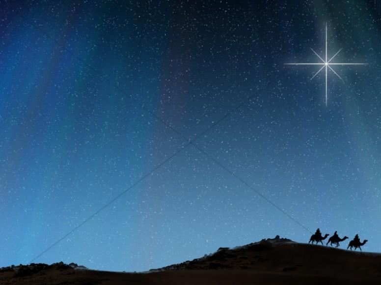 Magi Journey Worship Background