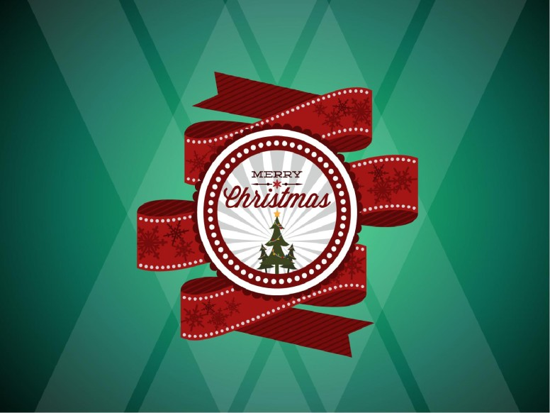 Merry Christmas Mega Church PowerPoint Template