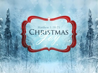 Christmas Joy To The World PowerPoint Sermon Template