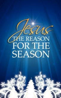 Reason for the Season Christmas Bulletin