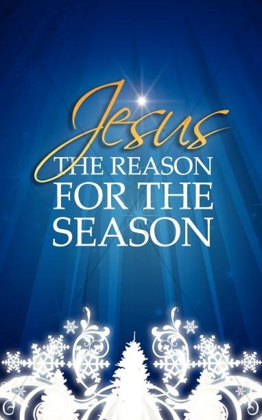 Reason for the Season Christmas Bulletin