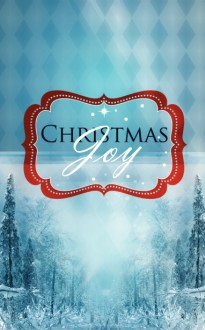 Christmas Joy Church Bulletin Template