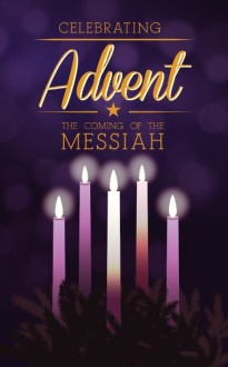 Advent Christmas Bulletin Template