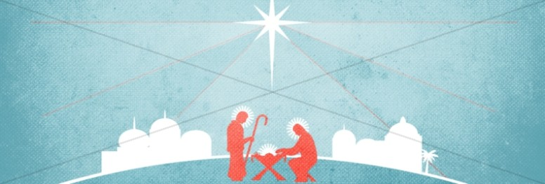 Jesus Savior of the World Christmas Web Banner
