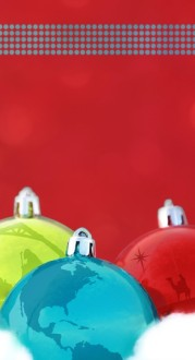 Christmas Ornaments Web Sidebar