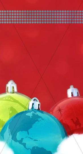 Christmas Ornaments Web Sidebar