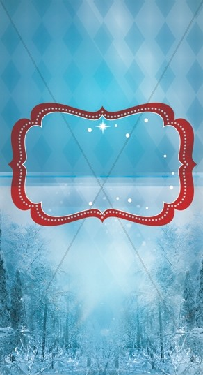 Winter Wonderland Web Sidebar
