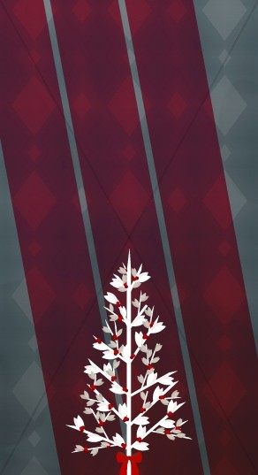 Christmas Tree Website Sidebar