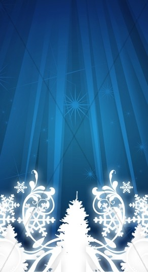 Christmas Season Church Website Sidebar