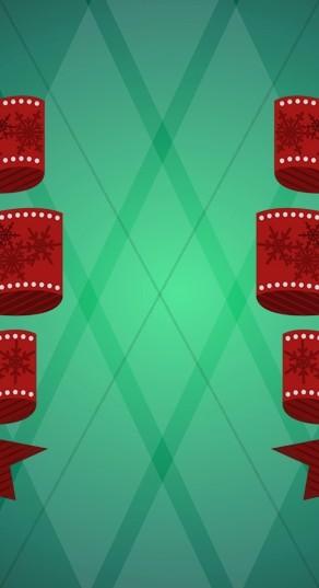 Christmas Themed Website Sidebar