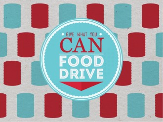 Food Drive PowerPoint