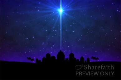 O Little Town of Bethlehem Nativity Video Loop