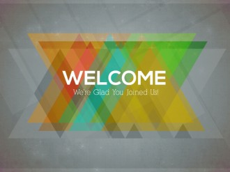 Welcome Church Event Slide