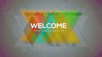 Welcome Slide Church Service Still