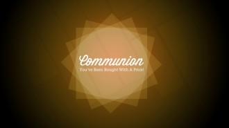 Communion Church Service Stills