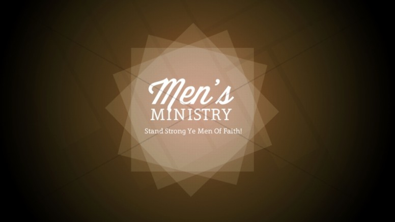 Mens Ministry Church Event Still